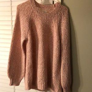 Lou & Grey Light Pink Sweater - Medium